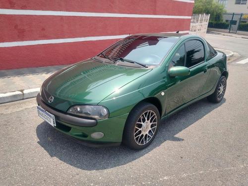 Gm Tigra 1.6 16v 1998 Verde Rodas Tsw Pneus Ok Abs Air Bag !