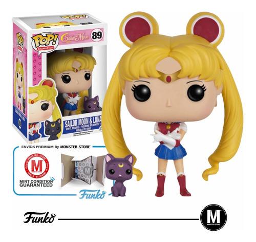 Funko Pop Sailor Moon: Sailor Moon With Luna #89