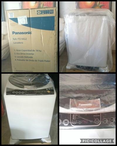 Lavadora Panasonic, Automática, Inverter, 14kg, Nueva