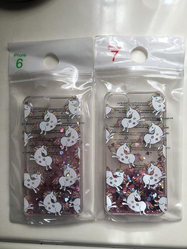 Funda Glitter/ Brillos iPhone 6 Y 7