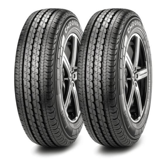 Kit X2 Pirelli 195/60 R16 Chrono Carga 99t Neumen Ahora18