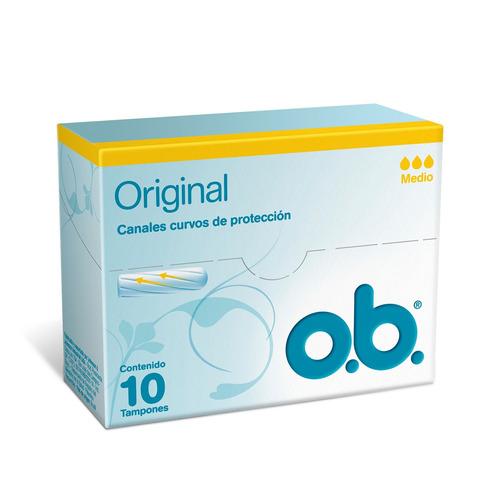 Tampón O.b. Originales Medio10u