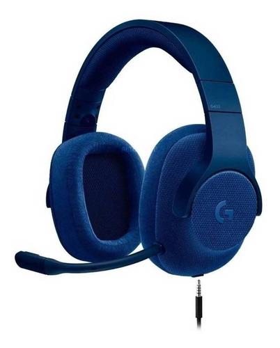 Audífonos Gamer Logitech G Series G433 Blue