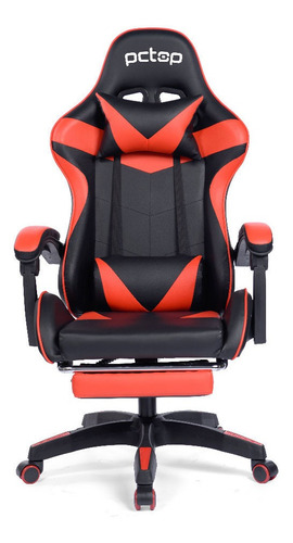 Cadeira Gamer Pctop Racer Vermelha - Se1006