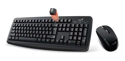 Combo Teclado Y Mouse Inalámbrico Genius Smart Km-8100 Usb