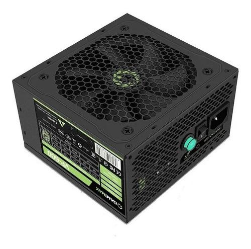 Fuente Pc Atx Gamemax Vp-600w Reales 80 Plus Bronze Bgui