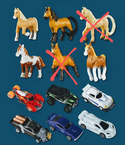 Brinquedos Mc Donald's