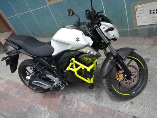 Defensa Para Moto Gixxer Sin Carenaje