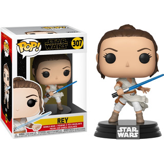 Figura Funko Pop Star Wars - Rey 307 Mejor Precio