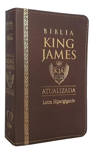 Bíblia Sagrada King James Luxo Versão Atualizad Hipergigante