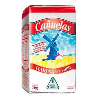 Harina Cañuelas 000 1 Kg Panaderia Postres Pastas Comida