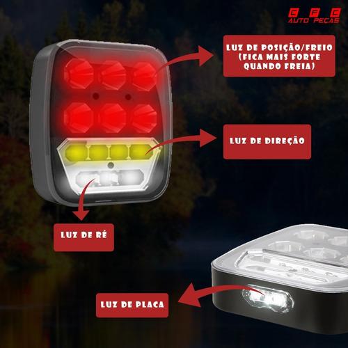 Lanterna Traseira Sinaleira Troller Jeep Wrangler Adaptacao!