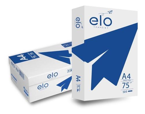 Papel Sulfite A4 Elo Premium 500 Folhas 75g - Resma Promoção