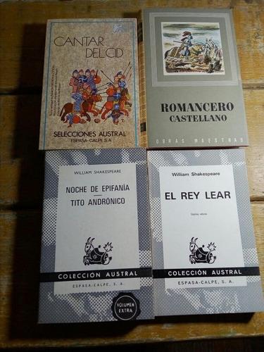 Lote De 24 Libros Clásicos Sin Uso