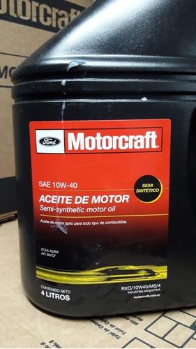 Aceite Semi Sintético 10w40 Motorcraft 4 Litros