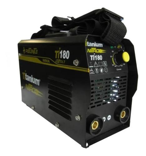 Máquina De Solda Inversora Bivolt Titanium-ti180