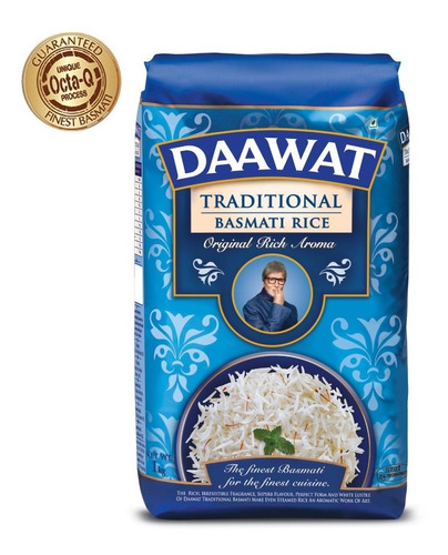 Arroz Basmati Daawat Trad. De India - - kg a $23900