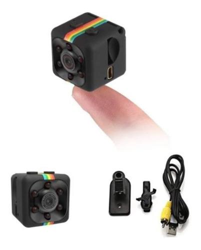 Mini Filmadora Câmera Espiã Hd Com Infra Detecção Movimento