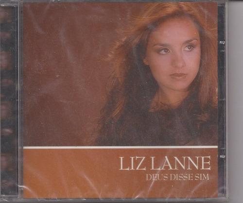 Liz Lanne - Deus Disse Sim - Raridade - Cd - Mk Music Original
