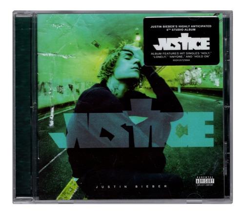Justin Bieber - Justice - Disco Cd