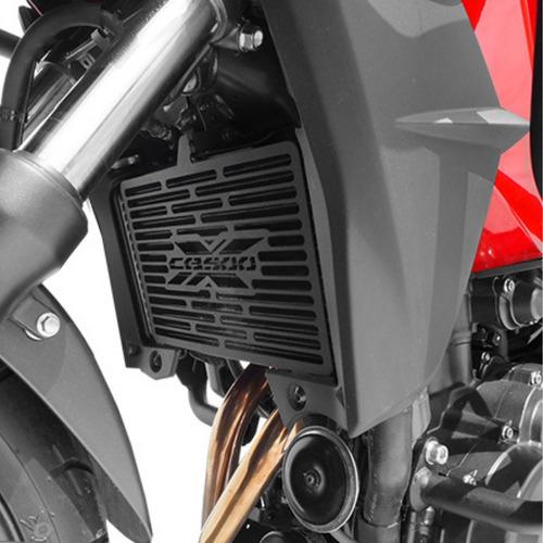 Protetor Radiador Scam Honda Cb 500x 13 Em Diante Spto212