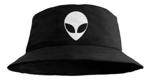 Boné Chapéu  Bucket Hat Estampa Alien