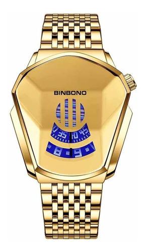 Relógio Masculino Binbond D Luxo Promoção