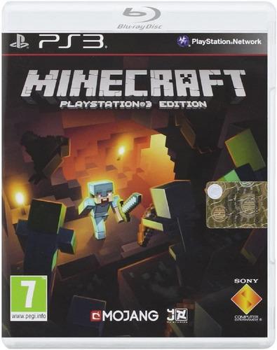 Minecraft Juego Digital Ps3