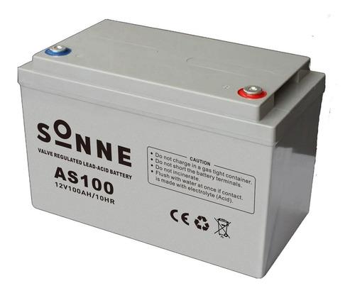 Batería Estacionaria Sonne Gel 200 Ah Paneles Solares