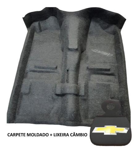 Carpete Preto Moldado Para Assoalho Chevette / Chevy