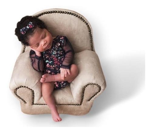 Mini Sofá Prop Fotografia 001 Newborn Recém Nascido Poltrona