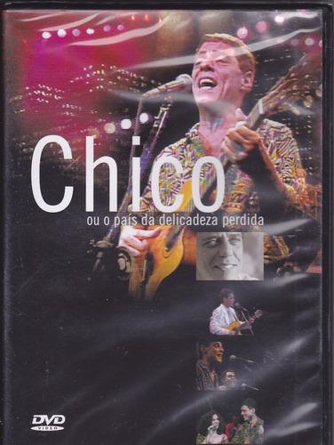 Dvd Chico Buarque - No País Da Delicadeza Perdida - Ao Vivo Original