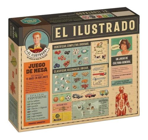 Juego De Mesa El Ilustrado Maldón