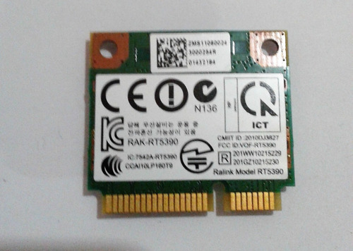 Placa Wifi Ralink Rt5390 All In One Hp Pavilion Compaq