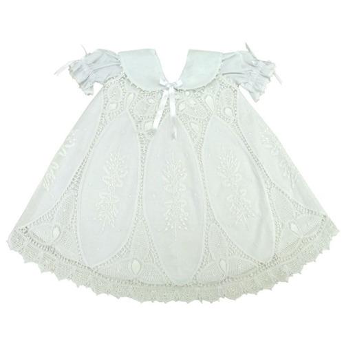 Vestido Branco Batizado Renascença Xique Xique Brasil