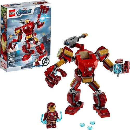 Lego Marvel - Iron Man Mech 76140 Original 148 Piezas