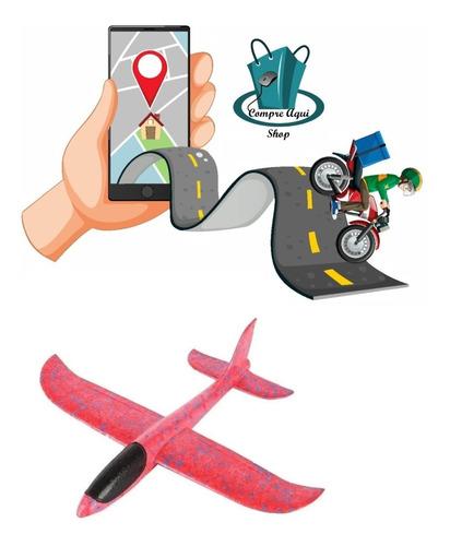 Aeromodelo Planador Manual Avião Isopor Flexível Arremesso
