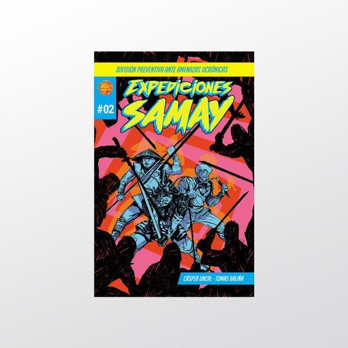 Expediciones Samay #2 - Samay Comics - Tierra Prima