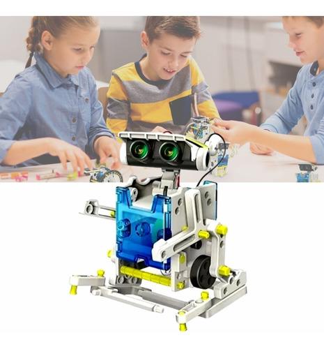 Robô 13 Em 1 Energia Solar Kit Robótica Educacional
