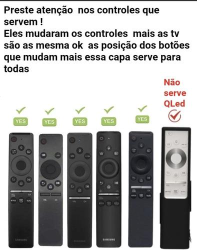 Capa Controle Tv Samsung 4k Silicone Proteger Serve Todos 4k
