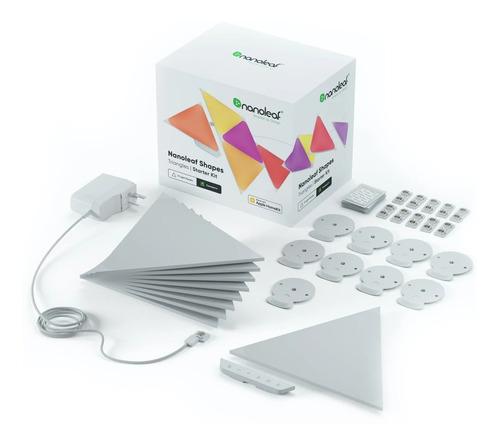 Nanoleaf Aurora Smarter Kit Com 9 Painéis Rgb