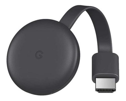 Google Chromecast 3rd Generation  Full Hd  Carbón