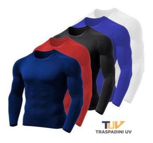 Blusa Termica Masculina Uv 50+ Malha Fria - Promocao Top