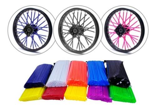 Tubo Decorativo Bicicleta 17cm 72 Peças Cores Diversas