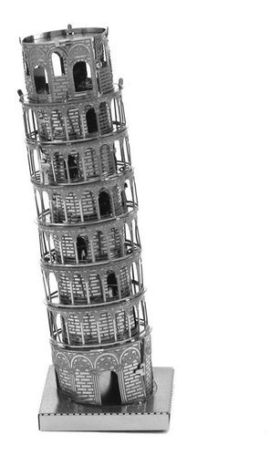 Torre De Pisa  Rompecabezas Metálico 3d En Stock! Envío Ya!