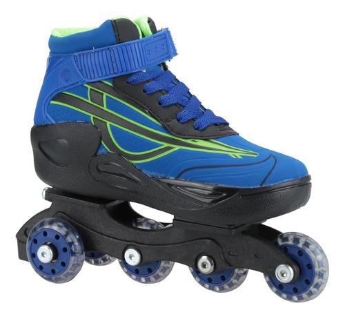 Patins Oxer Roller Boot In Line Triline Inline Infantil