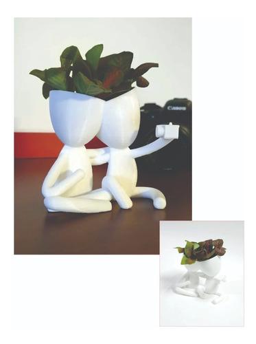 Vaso Decorativo Robert Casal Selfie Plantas Suculentas