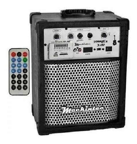 Alto-falante Mackintec Young Uz Portátil Com Bluetooth Preto 110v/220v