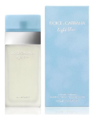Dolce Gabbana Light Blue 100 Ml - L a $1300