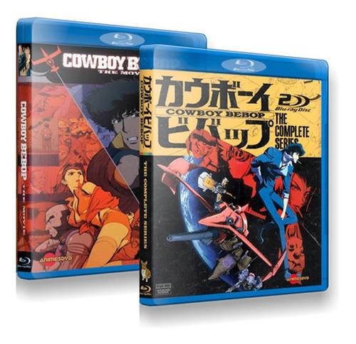 Cowboy Bebop Completo Tv E Filme Em Blu-ray